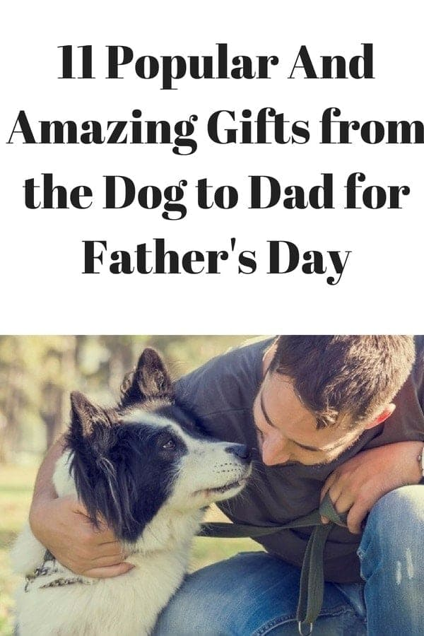 11 Father's Day Gifts from the dog