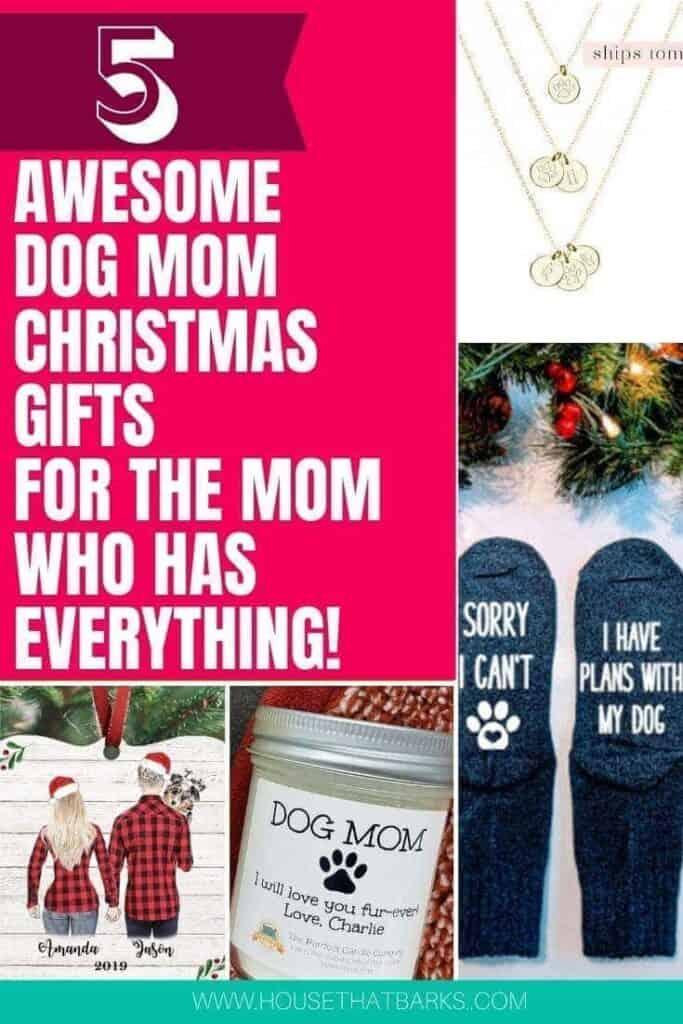 Dog Mom Christmas Gifts